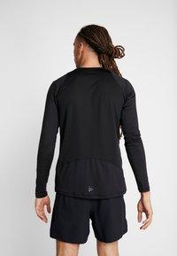 Craft - ESSENCE TEE - Långärmad tröja - black - 2