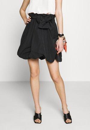 THE BUBBLE SKIRT - A-line skirt - black