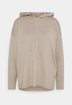SLFINKA HOODIE  - Pullover - sand/melange