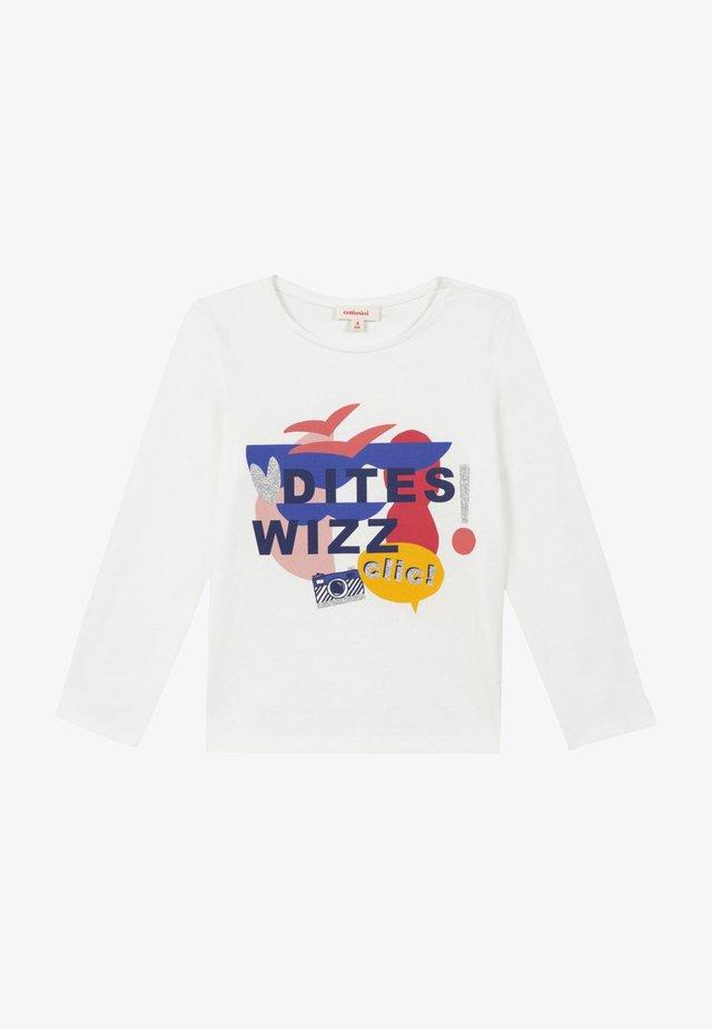 BIOLOGIQUE SERIG - Camiseta de manga larga - broken white