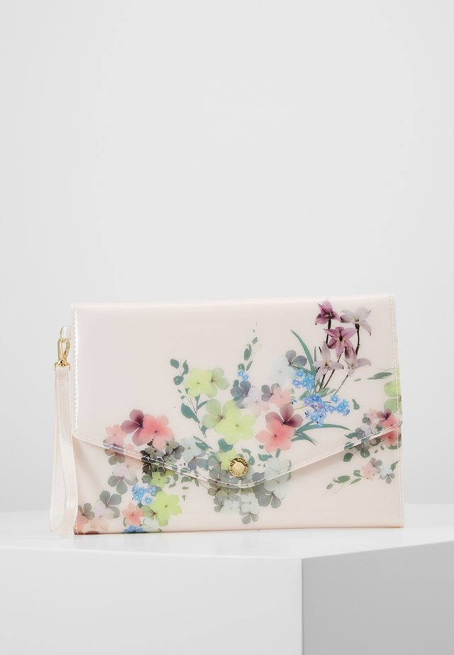 ROSETTE - Clutch - baby pink