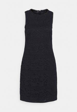 FLORAL STRIPED DRESS - Pouzdrové šaty - lighthouse navy