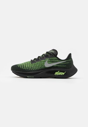 AIR ZOOM PEGASUS 37 - Neutrala löparskor - black/reflect silver/ghost green