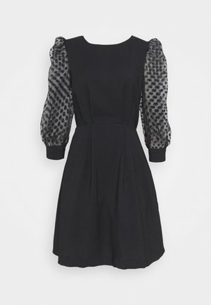 ANNETTE - Day dress - noir