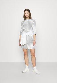 ONLY - ONLTAMARI DRESS - Shirt dress - cloud dancer/silver conce - 1