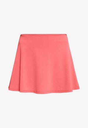 TANGRAM SKORT - Sports skirt - coral pink/white