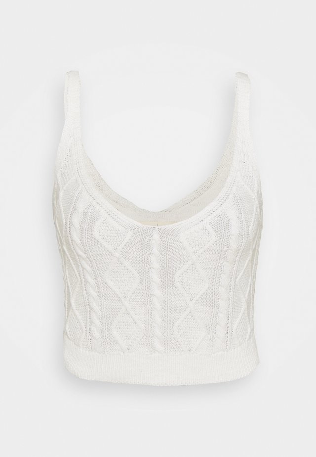 TWINSET - Top - ivory
