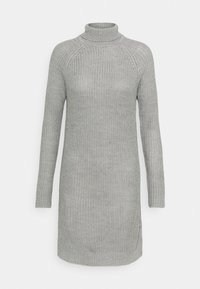 Even&Odd - Strikket kjole - grey melange - 4