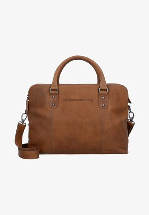 STEPHANIE  - Briefcase - cognac