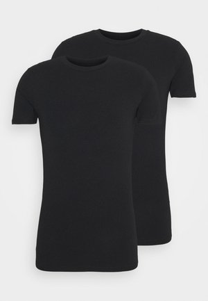 CADAN 2 PACK - Unterhemd/-shirt - all black