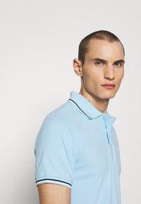 Emporio Armani - Polo shirt - baby blue - 4