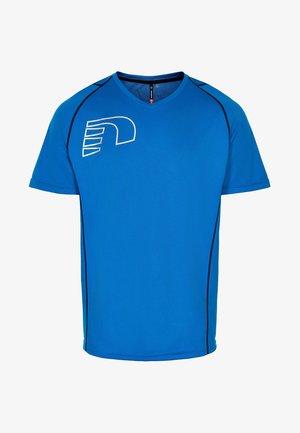 CORE COOLSKIN - Print T-shirt - blue