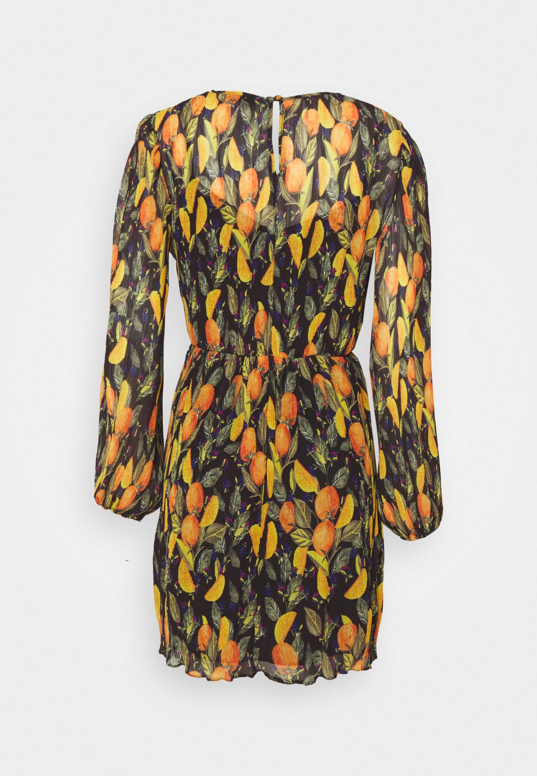 Women ORANGES MINI DRESS - Day dress