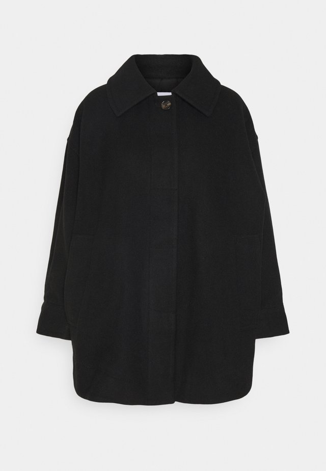 CARLI JACKET - Classic coat - black solid