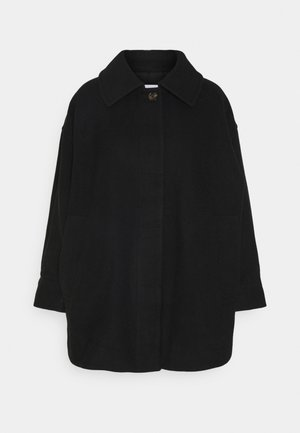 CARLI JACKET - Short coat - black solid