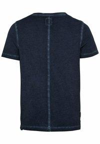 camel active - KURZARM  - Basic T-shirt - dark blue - 6