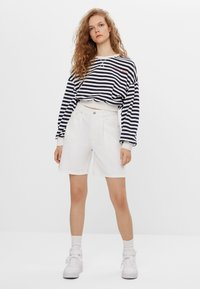 Bershka - Sweater - white - 1