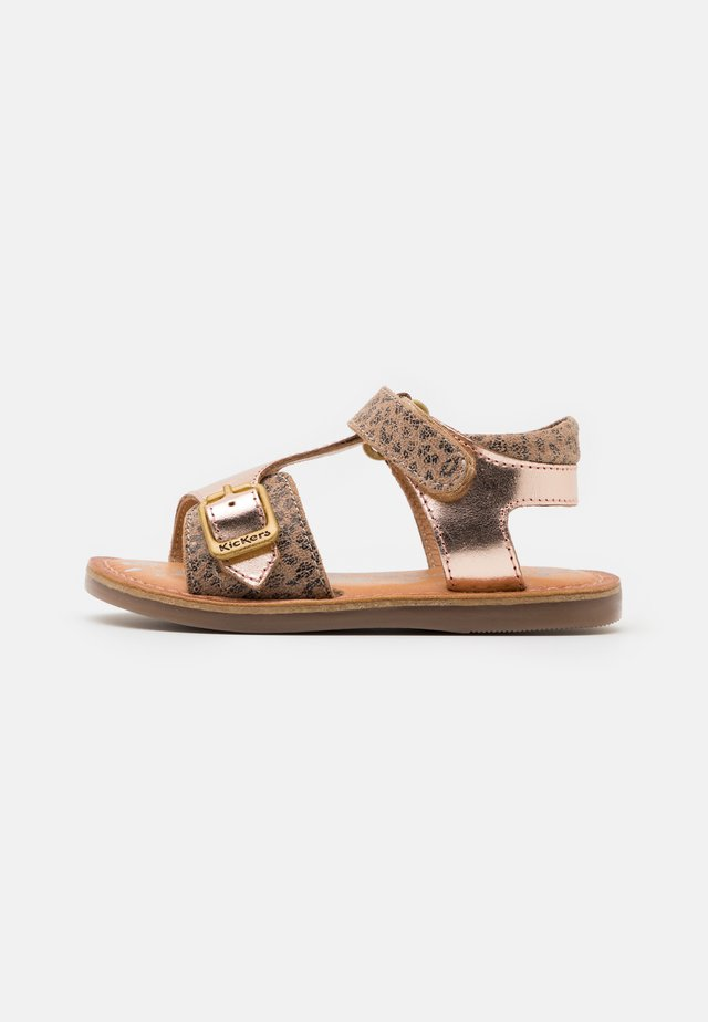 DIAZZ - Sandalen - beige/rose