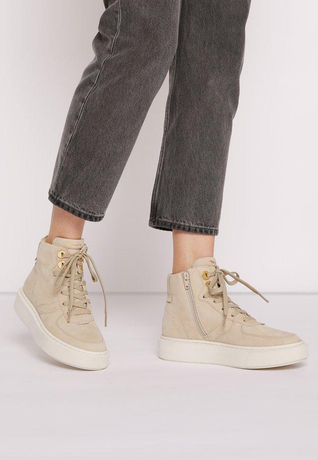 Sneakers hoog - antelope
