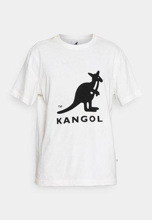 BRONX - Print T-shirt - white