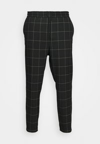 Only & Sons - ONSLINUS LONG CHECK - Pantalones - black - 3