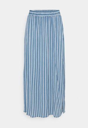 IHMARRAKECH - Maxi skirt - coronet blue