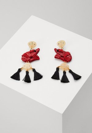 SHRIMPY TASSEL EARRINGS - Náušnice - brilliant sunset