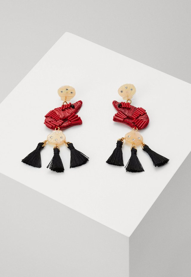 SHRIMPY TASSEL EARRINGS - Oorbellen - brilliant sunset