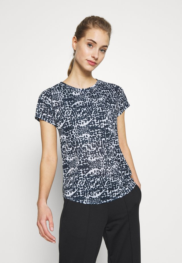 PRINTED ACCELERATE SHORT SLEEVE - T-shirts print - eclipse