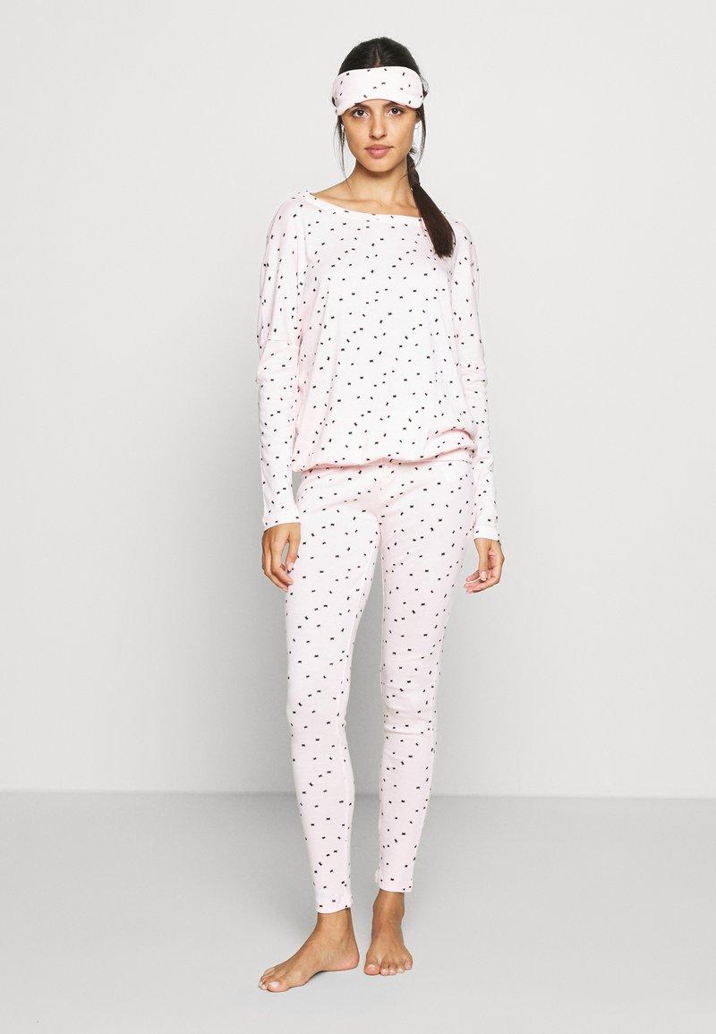 Anna Field - Nattøj sæt - pink