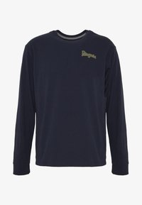 Patagonia - YES TO WILDERNESS RESPONSIBILI TEE - T-shirt à manches longues - new navy - 4