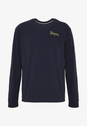 YES TO WILDERNESS RESPONSIBILI TEE - Bluzka z długim rękawem - new navy