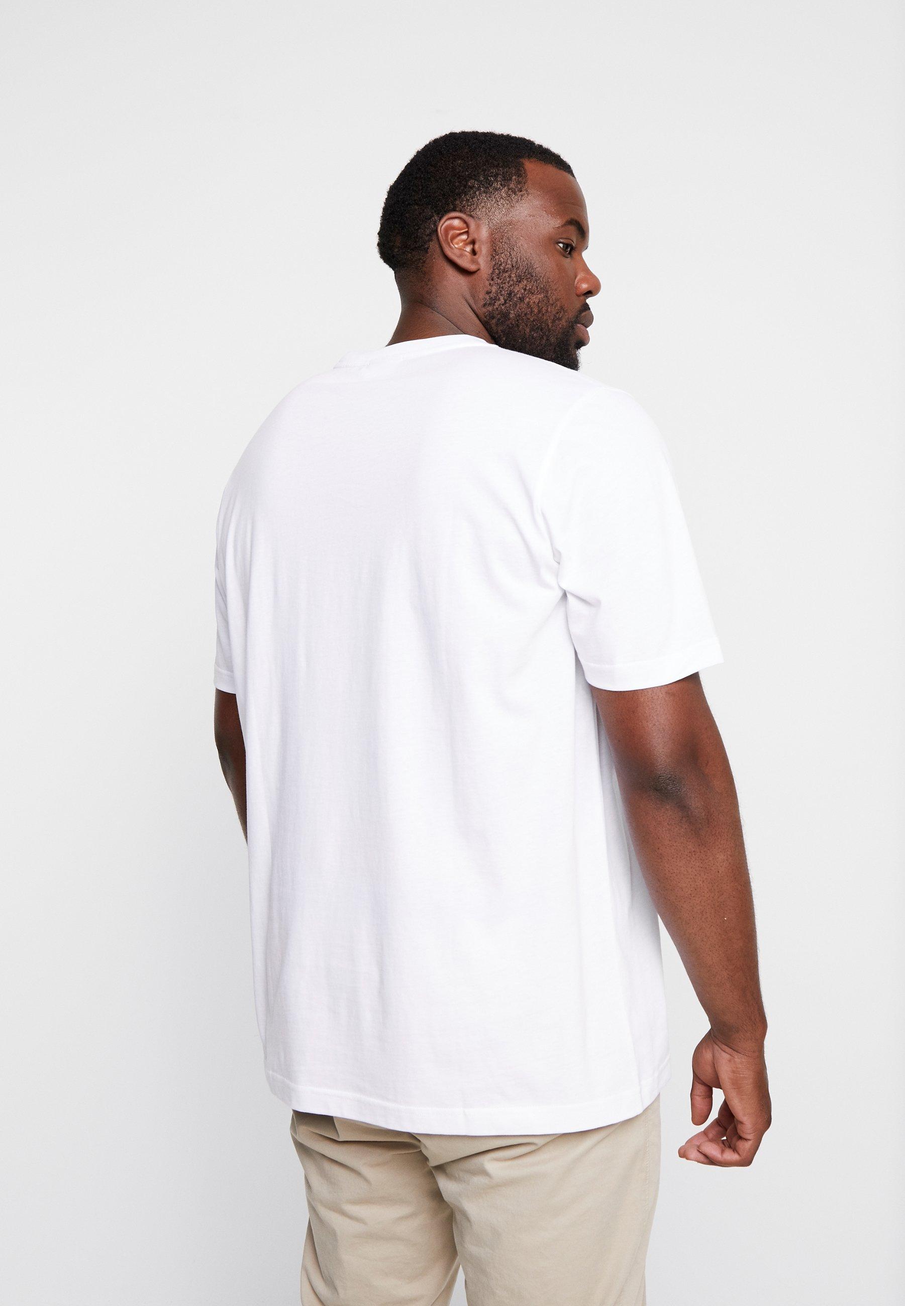 Calvin Klein FRONT LOGO - T-shirt imprimé - white
