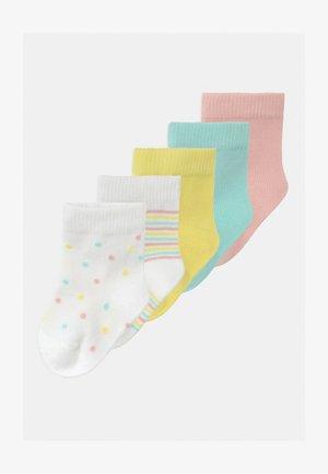 NBFRALULA 5 PACK - Ponožky - limelight