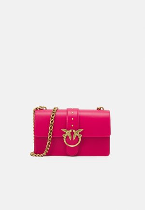 LOVE CLASSIC ICON SIMPLY  ANTIQUE - Across body bag - magenta