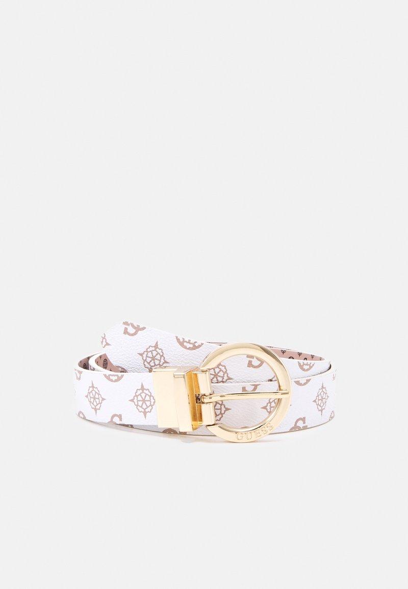 Guess - CESSILY ADJUST PANT BELT - Belt - white