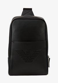 Emporio Armani - BODYPACK - Across body bag - black - 6