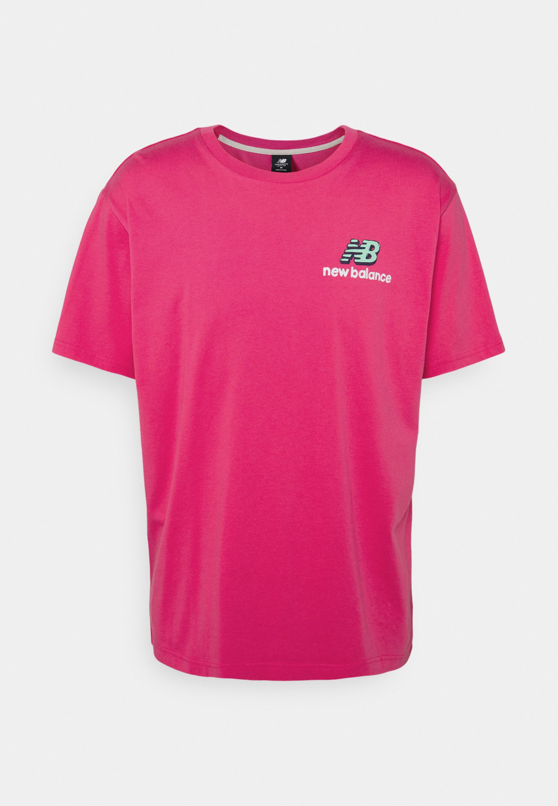 Men ATHLETICS CLASH GRAPHIC TEE - Print T-shirt