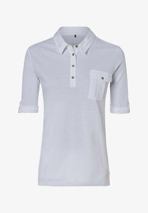 MIT BRUSTTASCHE - Polo shirt - weiãŸ