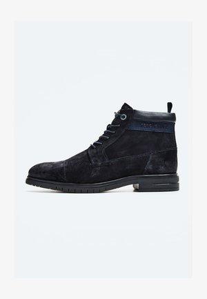 THOMAS FLEX - Šněrovací kotníkové boty - azul marino
