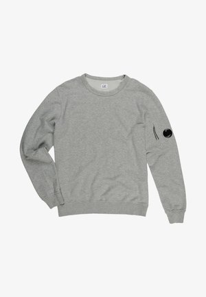 08CMSS053 PER UOMO, TINTO IN CAPO, MANICA LUNGA - Long sleeved top - m93 - grey melange