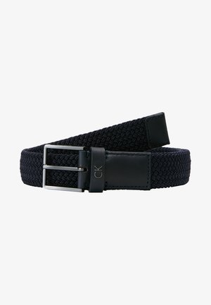 FORMAL ELASTIC BELT - Cinturón - blue