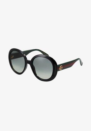 Sunglasses - black/green/grey