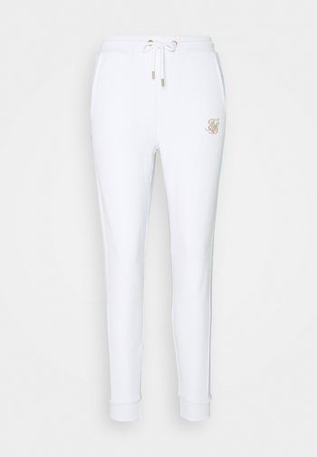WEAVE JOGGER - Tracksuit bottoms - white