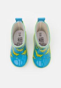 Playshoes - HALBSCHAFT KROKODIL UNISEX - Wellies - blau - 3