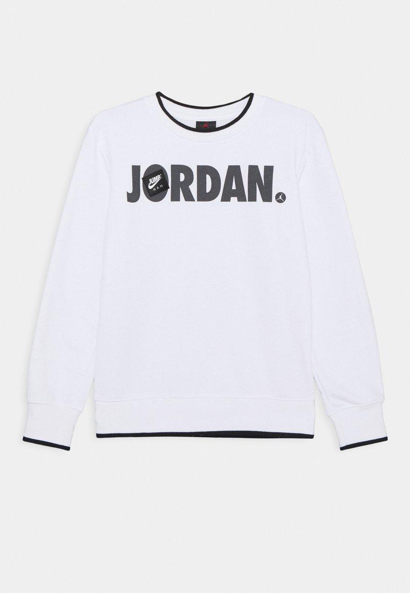 Jordan - JUMPMAN CREW UNISEX - Collegepaita - white
