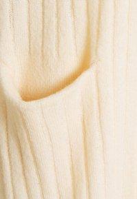 YAS Petite - YASCAMPUS LONG CARDIGAN - Cardigan - off-white - 2