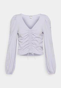 Monki - ULLE - Longsleeve - lilac purple dusty light - 0