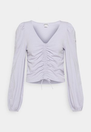 ULLE - Long sleeved top - lilac purple dusty light