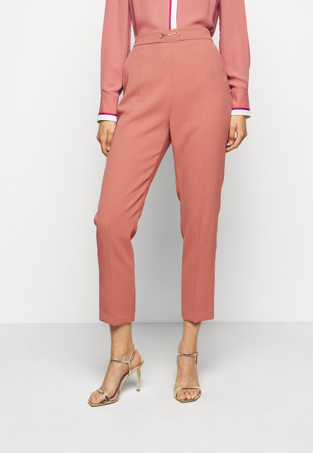 WOMEN'S PANTS - Pantalon classique - rose gold